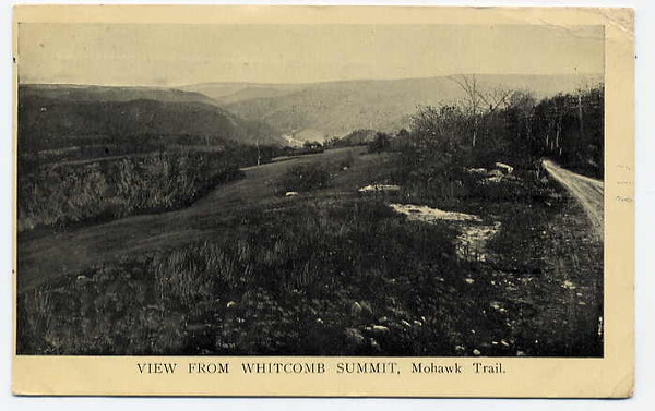 Florida Mohawk Trail  View Whitcomb Summit