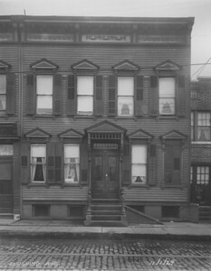 Violin Teacher's house, 53rd Street and Flushing Avenue