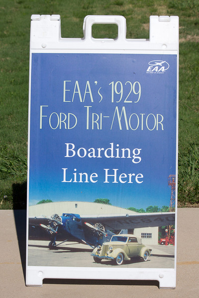 Ford Tri-Motor Sign