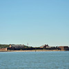 Fort Clinch in Fernandina Beach, Florida from St. Mary's Sound 11-09-10