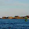 Fort Clinch at Fernandina Beach, Florida as viewed from the St. Mary's River