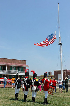 Fort McHenry Memorial Day 2006