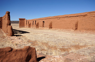 Post storehouses.  Fort Union was a supply depot for other forts in the southwestern region.  Freight wagons would arrive from the east across the Santa Fe Trail.