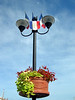 Flower Baskets at Marseillan