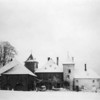 "Photo courtesy of Fred Korb<br /> Gen. Anthony McAuliffe and other 101st command officers used this Belgian chateau near Bastogne as headquarters  in January 1945.  McAuliffe, who was responsible for Bastogne's defense, is famous for saying ""Nuts!"" to the Germans'  Dec. 22 call for surrender."