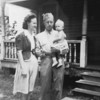 Photo courtesy of Fred Korb<br /> Fred Korb with wife Dorothy and 11-month-old son, Lavern, at training camp in Fayetteville, N.C. in 1942. Fred was a member of the U.S. Army Band and 327th Glider Infantry Regiment attached to the 101st Airborne Division in Europe.