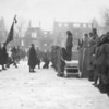 Photo courtesy of Fred Korb<br /> Gen. Maxwell Taylor returns the city of Bastogne to the mayor in January 1945. Taylor was the first Allied general to land in France on D-Day and commanded the 101st Airborne Division for the rest of the war.