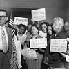 1953, Housing Projects Protestors and Mayor