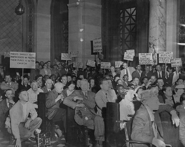 1951, Planning Commission Protest