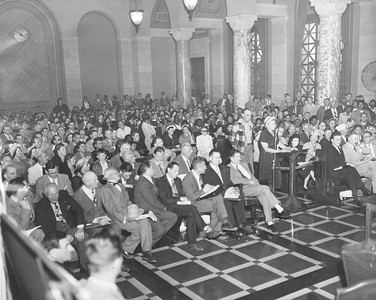 1951, City Hall Protest
