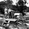 1959, Looking at Destroyed Home