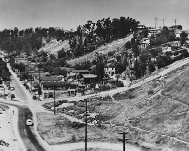 1950, Street in a Canyon