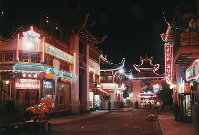 Gin Ling Way at Night