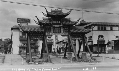 New Chinatown Gate
