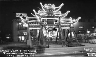 1942, Gateway at Night