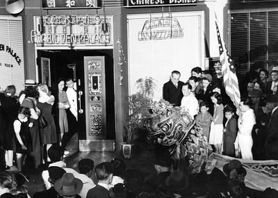 1941, Lion at Forbidden Palace