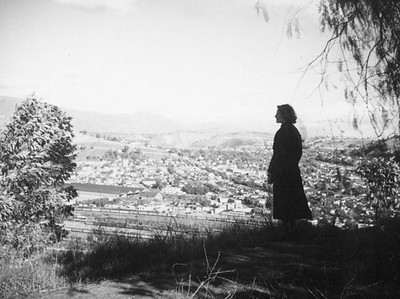 1937, Ethel Schultheis and View