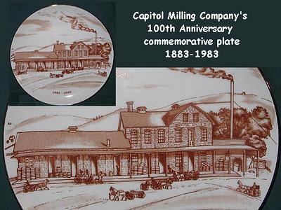 1983, 100th Anniversary Commemorative Plate