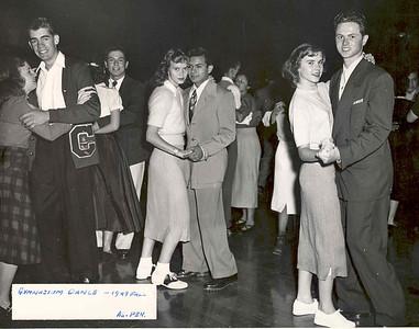 1949, Gymnasium Dance