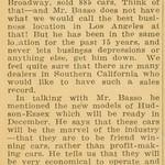 1929, Depression Car Sales