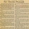 1979, Dealership Profile