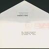 1976, Bank of America Envelope