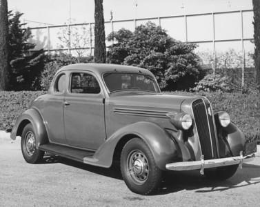 1936, Plymouth Coupe
