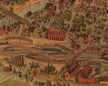 1891, Elliot Map