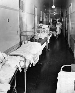 1949, Psychiatric Ward Hallway