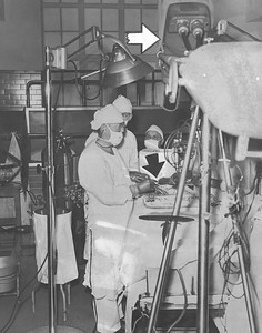 1951, Color TV Surgery