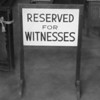 Night Court Witnesses' Section