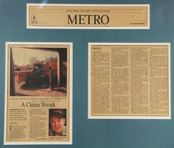 1998, Larry Lieswald LA Times Profile