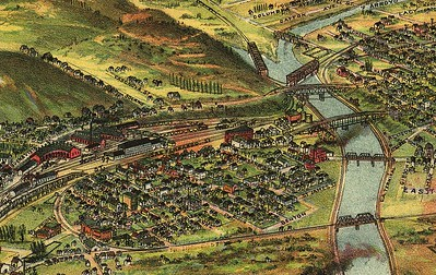 1894, River Station and Dogtown