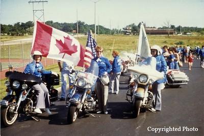 1981 Parade Line up - Convention