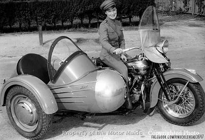 Dot Robinson - sidecar
