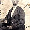 tinype or daguerrotype of Claudius Marion Quarterman