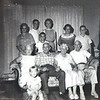 1962 - Visit of Julia Q Alcorn and O M Alcorn family of Savannah to Jackson, MS : TPQ & Mamoo, Julia Q Alcorn & Ottis M Alcorn, daughter Jules Joseph and granddaughter & Madison, PLQ family