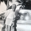 TPQ & brother Flavel in Miami, May 1955 - and Jessie