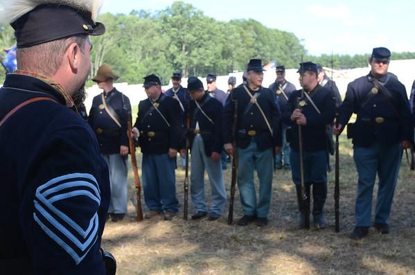 Gettysburg reenactment 4July 2013
