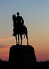 General Meade Memorial at sunrise
