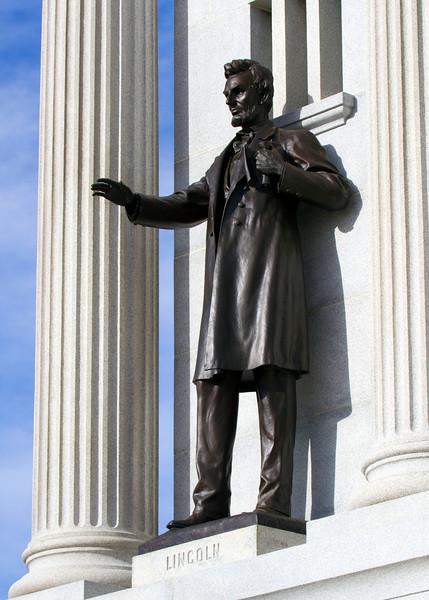 Lincoln at the Pennesylvania Memorial