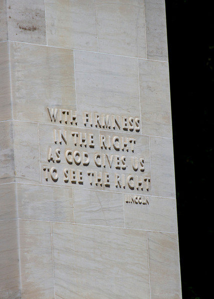Peace memorial that was dedicated by President Franklin Roosevelt on July 3rd, 1938, the 75th anniversary of the battle.