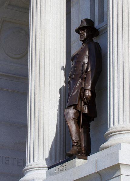 General Meade at the Pennesylvania Memorial
