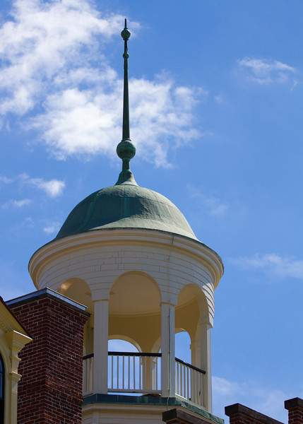 Luthern Seminary's cupola where Brigadier General John Buford observed the battle on day 1