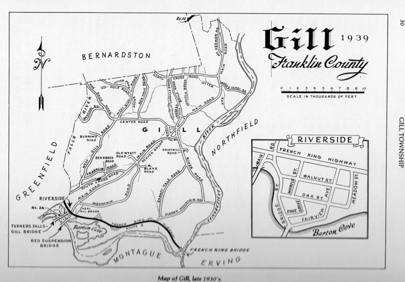 Gill Map 1930's