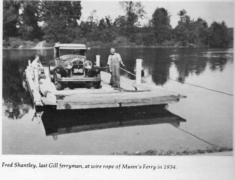 Gill Munn's Ferry 1934