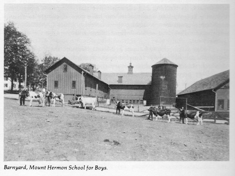 Gill Barnyard Mt Hermon School