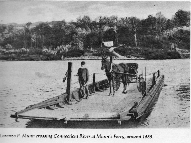Gill Munn's Ferry Crossing 1885