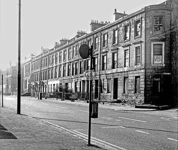 Govan Rd between Rutland Crescent and Rutland Lane .   April 1974