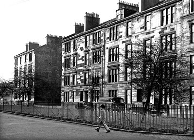 Pollok St, west side south of Houston St.     April 1974